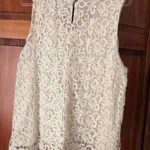Lucky Brand Tops - Lucky Brand Lace Crochet top